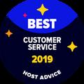 Meilleur badge de Soutien à la clientèle est attribué aux entreprises que nos éditeurs ont testées anonymement Leur Email & Téléphone de soutien et ont prouvé qu'ils sont géniaux.