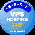 Attribué aux entreprises dans le top 10 pour les meilleurs VPS catégorie d'hébergement.