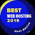 Attribué aux entreprises dans le top 10 pour la meilleure catégorie d'hébergement Web.