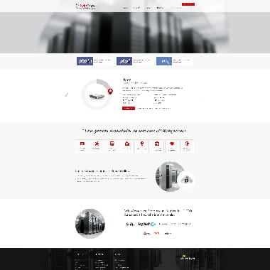 SwissCenter HomePage Screenshot