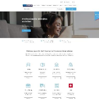 WebLand HomePage Screenshot
